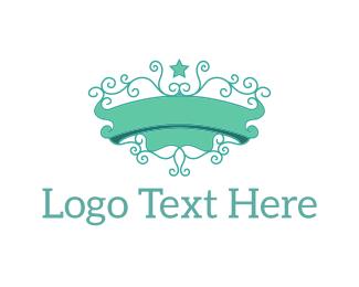Ornament - Mint Emblem logo design