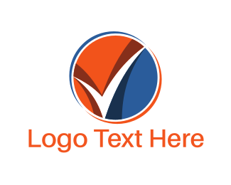 Tax - Check Circle logo design