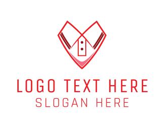 T-shirt - Shirt Heart logo design