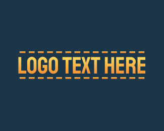 Thread - Stitch Design Wordmark logo design