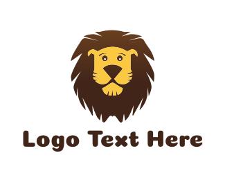 Kids - Cute Lion logo design
