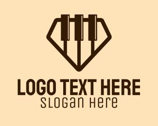 Diamond - Diamond Piano logo design