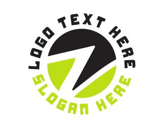 Lettermark Z - Circle Letter Z logo design