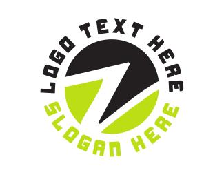 Letter Z - Circle Letter Z logo design