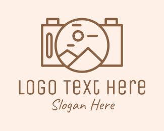 Photography - Outdoor Camera Photography logo design