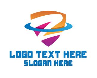 Letter Z - Letter Z Shield logo design