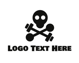 Gym - Hardcore Gym logo design