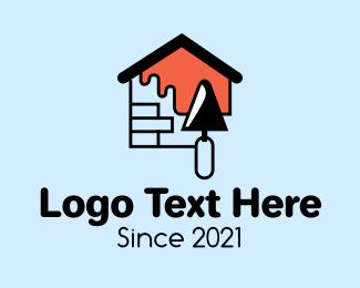 Brick - Brick House Painting logo design