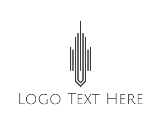 Tower - Tower Lines logo design