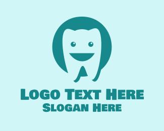 Orthodontics - Happy Tooth Dentist logo design
