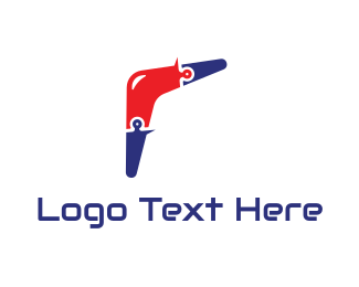 High Tech - Boomerang Tech logo design