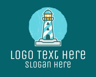 Tower - Lighthouse Tower  logo design