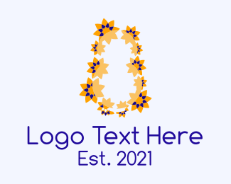 Massage Center - Festive Flower Decorations logo design