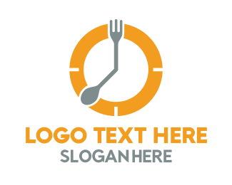 Duration - Meal Time  logo design