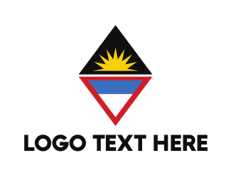 Brazilian - Antigua & Barbuda Symbol logo design
