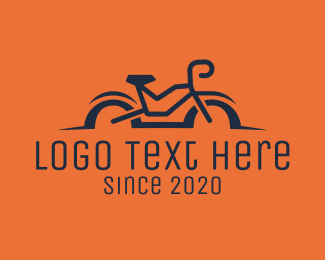 Mtb - Simple Bicycle Bike logo design