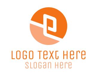Letter E Circle Logo