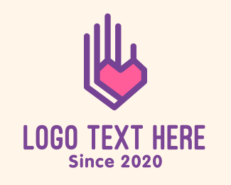 Social Worker - Outreach Helping Hand logo design