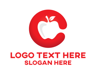 Apple - Red Apple logo design