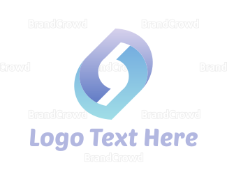 Rotation - Abstract Technology logo design