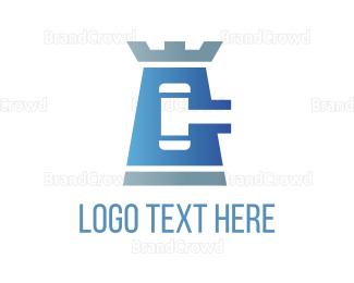 Law - Law Tower logo design