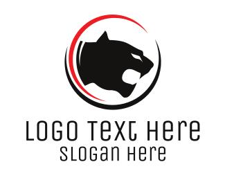 Big Cat - Big Cat Circle logo design