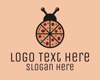 Bug - Pizza Bug logo design