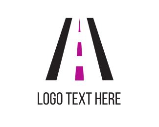 Roadway - Black Road logo design