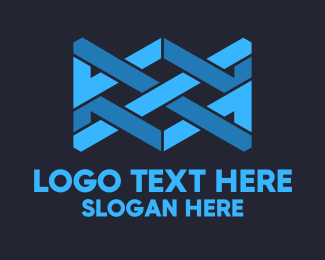 Study - Blue Shape logo design