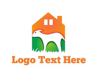 Farm - Sheep  Farm logo design