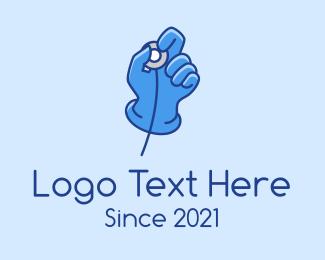 Surgeon - Surgeon Stethoscope Checkup logo design