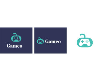 Gamestick - Game Controller Icon logo design