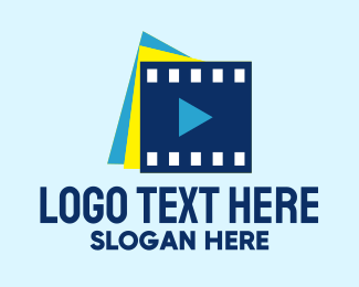 Production Studio - Video Film Studio logo design