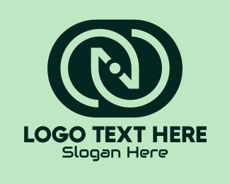 Web Design - Green Tech Letter N  logo design