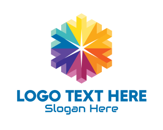 """""""3D Colorful Hexagon Cursors"""" by town"""