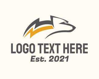 Grizzly - Thunder Bear logo design