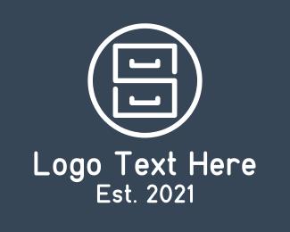 Furniture - Minimalist Dresser Furniture logo design