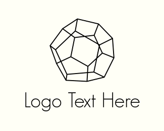 Sphere - Geometry & Lines logo design