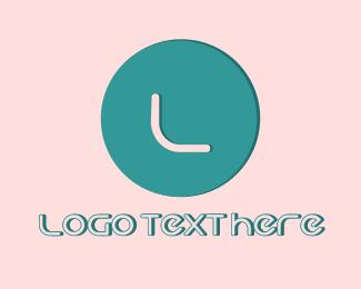 Minimalist Lettermark Circle Logo