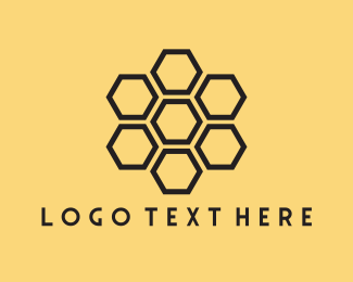 Hive - Honeycomb logo design