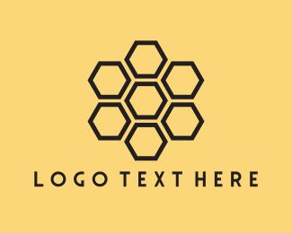 Beehive - Honeycomb logo design