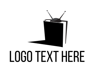Pages - TV Book logo design