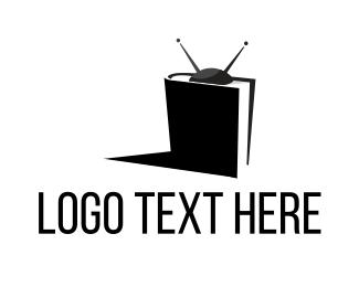 Shadow - TV Book logo design
