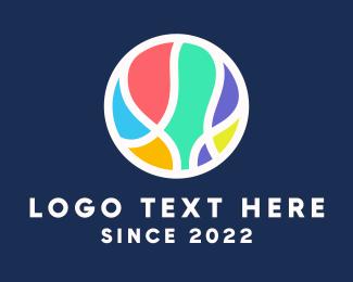 Pastel - Colorful Pastel Ball logo design