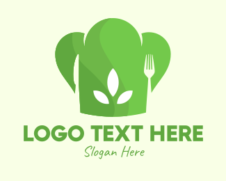 Healthy Food - Vegan Chef Dining logo design