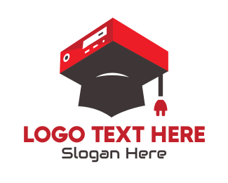 Graduation - Information Technology Graduate logo design