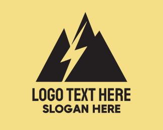 Electrical Engineer - Black Mountain Lightning  logo design