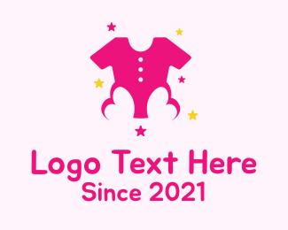 Baby Boutique - Pink Kids Boutique logo design