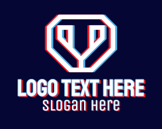Static Motion - Static Motion Letter Y  logo design