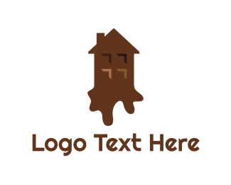 Brownies - Chocolate House logo design